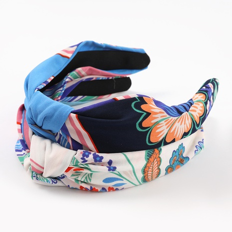 Fashion new printing hair band NHJE323989's discount tags