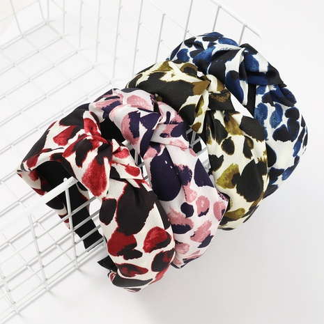 fashion pattern printing hair band NHJE324000's discount tags