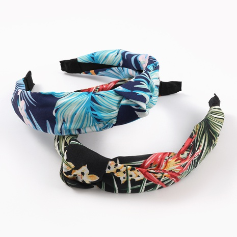new fashion simple printing hairband NHJE324003's discount tags