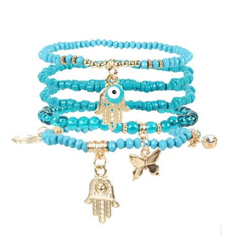 böhmisches Palmenschmetterling hängendes Armband NHCT324083's discount tags