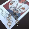 NHOM1494874-Shiny-gold-3-layer-hollow-earrings-8-cm