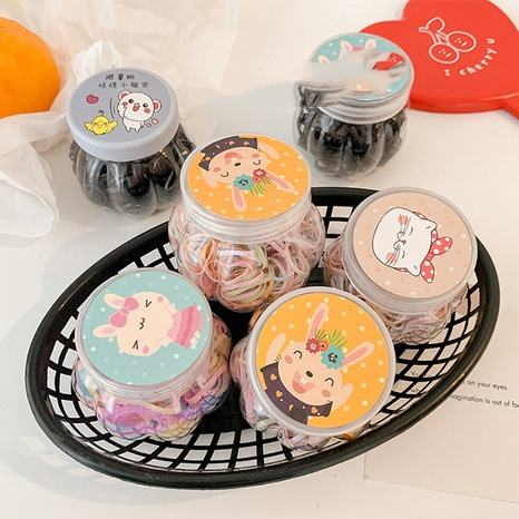 Cuerda simple del pelo de los niños de la moda coreana NHCQ323801's discount tags