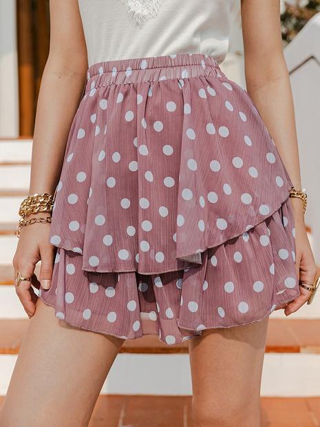 Fashion cute polka dot skirt NHDE324256's discount tags