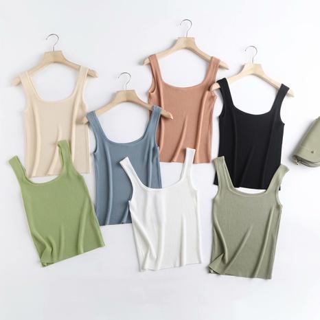 Al por mayor camisola de punto de color caramelo NHAM324401's discount tags