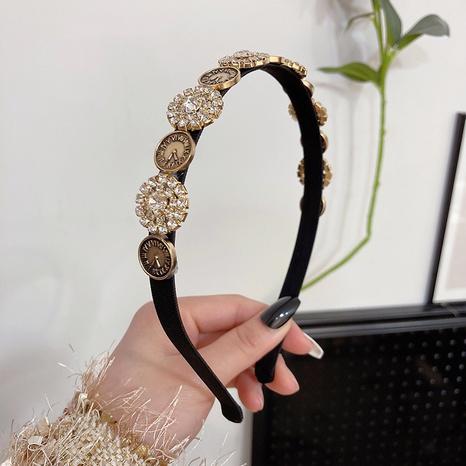 Diadema de diamantes de imitación retro barroca simple de moda coreana NHWF323786's discount tags