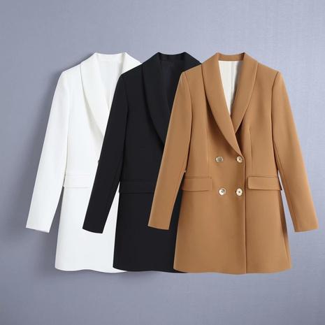 Al por mayor blazer casual cruzado NHAM324458's discount tags
