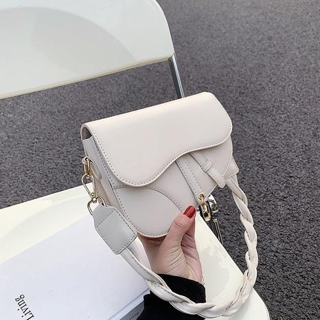 Sac de selle diagonal à une épaule à la mode coréenne NHJZ324474's discount tags