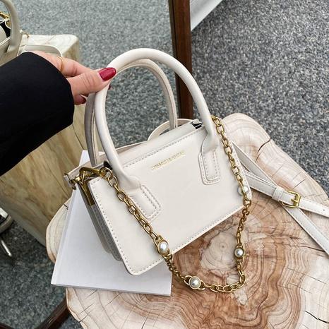 petit sac besace carré de couleur unie NHJZ324479's discount tags