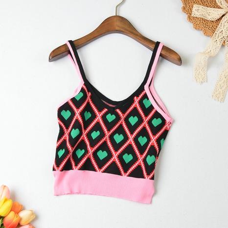 camisola elástica de punto salvaje de moda NHZN324710's discount tags