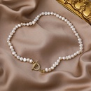 baroque retro freshwater pearl necklace  NHMS324683