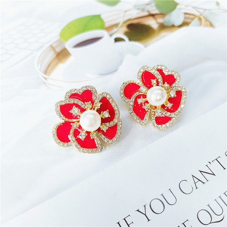 fashion simple hollow flower earrings NHVA324931's discount tags