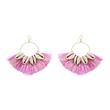 fashion alloy inlaid shells geometric earrings NHJQ324948's discount tags