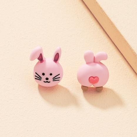 Asymmetrische Ohrringe des koreanischen Modekaninchens NHAI325049's discount tags