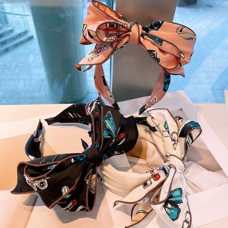 Geometrisches Bowkont-Stirnband der Korea-Mode NHHD325058's discount tags