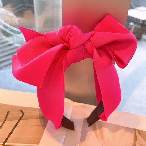 Mode Bowknot einfarbiges Stirnband NHHD325059's discount tags