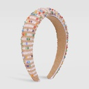 fashion imitation crystal handmade beaded headband NHMD325070
