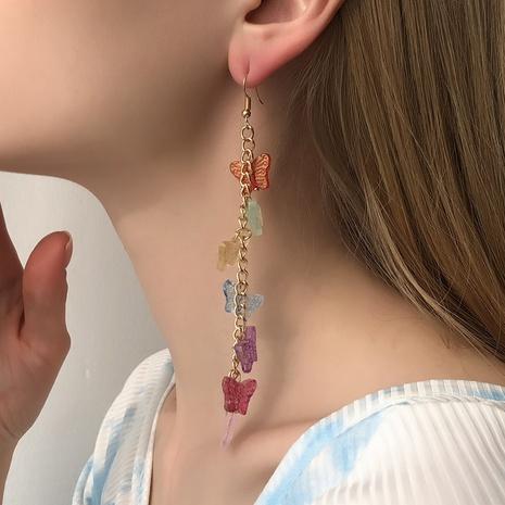 Mode Schmetterling lange Ohrringe NHMD325084's discount tags