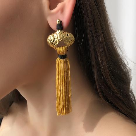 Pendientes de borla largos bohemios simples de nueva moda NHMD325098's discount tags