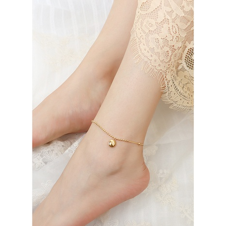 fashion simple beads anklet NHOK324996's discount tags