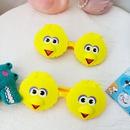 Childrens cute cartoon bird silicone sunglasses NHBA325474