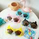 new fashion anti-ultraviolet silicone cartoon funny sunglasses NHBA325477
