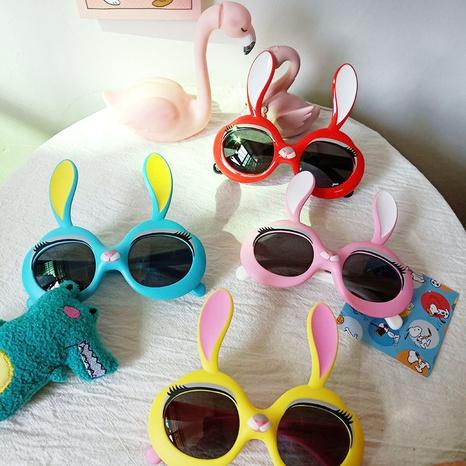 Lunettes de soleil lapin dessin animé mignon pour enfants NHBA325480's discount tags