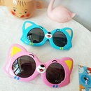 Childrens Cartoon cute cat Sunglasses NHBA325483
