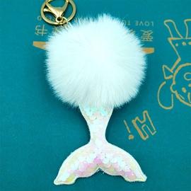 cute mermaid tail bag pendant NHDI325490