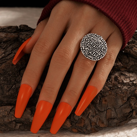 new retro exaggerated pattern ring NHGY325653's discount tags