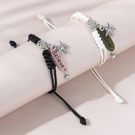 Mode beliebte wilde kreative Seestern Paar Armband Set NHPS325589's discount tags