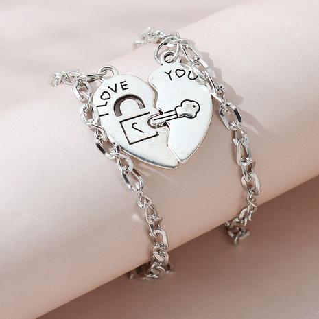 kreative einfache Stil Paar Armband Set NHPS325593's discount tags