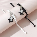 Korean creative wild fivestar couple bracelet set NHPS325594