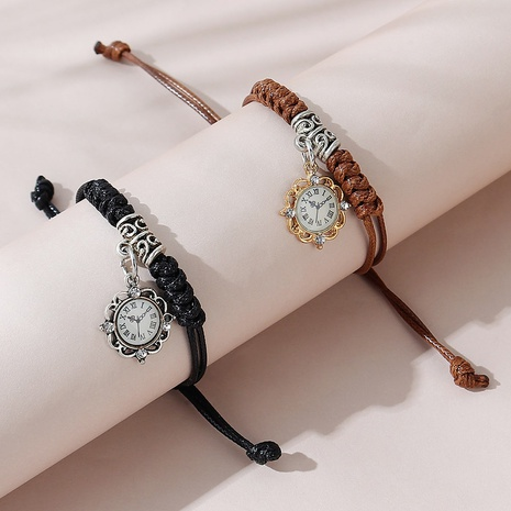 Koreanische Mode kreative Uhr Paar Armband Set NHPS325597's discount tags