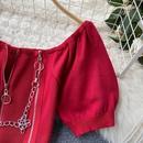 new trendy cardigan short Tshirt NHZN325627