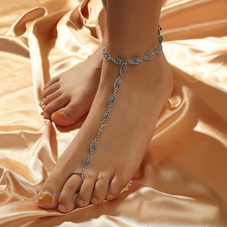 Simple fashion bohemian retro carved anklet  NHKQ318640's discount tags