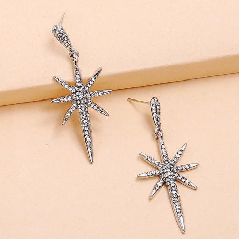 Boucles d'oreilles flocon de neige coréennes NHKQ318659's discount tags