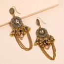 Fashion bohemian geometric bell earrings NHKQ318694