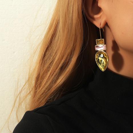 Retro kreative Wassertropfen rechteckige Ohrringe NHKQ318711's discount tags