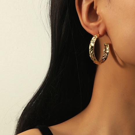 Retro-C-förmige Ohrringe der koreanischen Mode NHKQ318713's discount tags