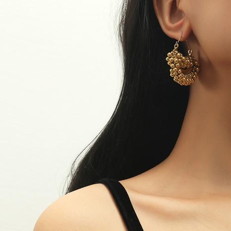 Perlenohrringe aus Retro-Legierung NHKQ318750's discount tags
