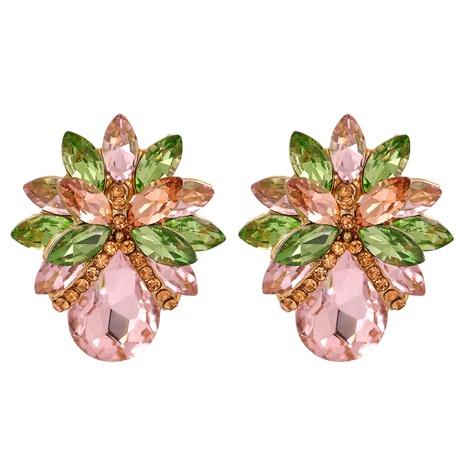 Mode Blume Diamant Ohrringe NHJJ318808's discount tags
