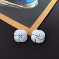 NHOM1469468-Square-persimmon-silver-needle-stud-earrings-2.3