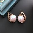 NHOM1469455-Conch-Pearl-Silver-Needle-Stud-Earrings-23cm