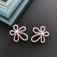 NHOM1469458-Hollow-Flower-Silver-Needle-Stud-Earrings