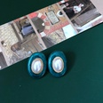 NHOM1469472-Oval-Pearl-Green-Silver-Needle-22.8cm