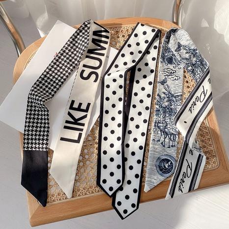 Korean fashion long silk scarf  NHDQ318899's discount tags