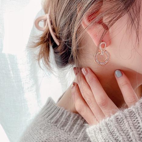 Retro Diamant runde einfache Ohrringe NHHI318976's discount tags
