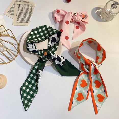 Korean retro hair ribbons wholesale NHWF325729's discount tags