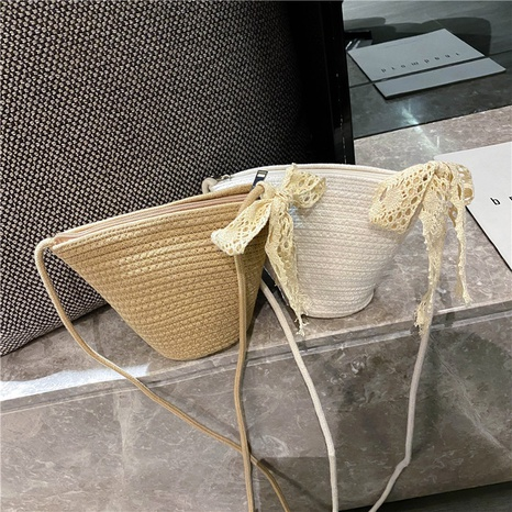 new fashion simple woven bucket bag NHTG325874's discount tags