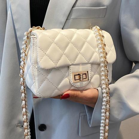 Sac à bandoulière en chaîne coréenne en perles NHTG325896's discount tags